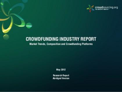 Les évolutions en 2013 du crowdfunding et son futur