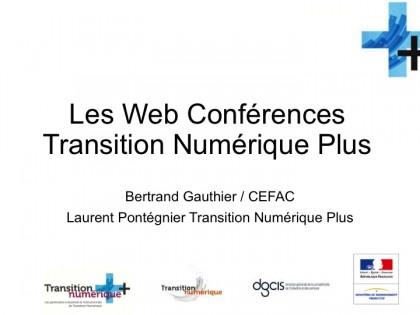 Webinar du programme transition numérique plus – Le financement des TPE et PME.